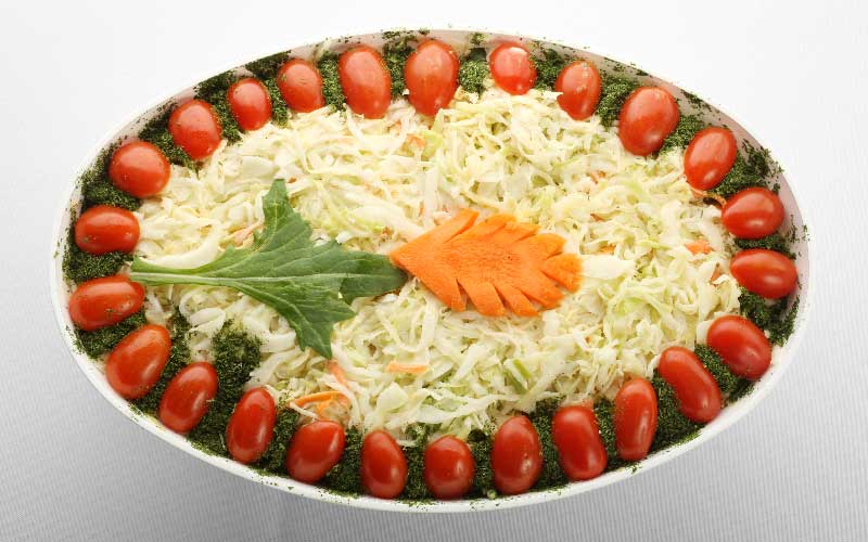 Cole Slaw Salad Bowl