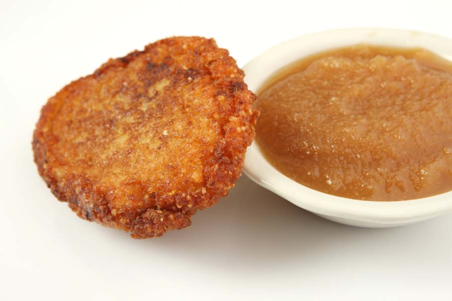 Potato Pancake with Applesauce