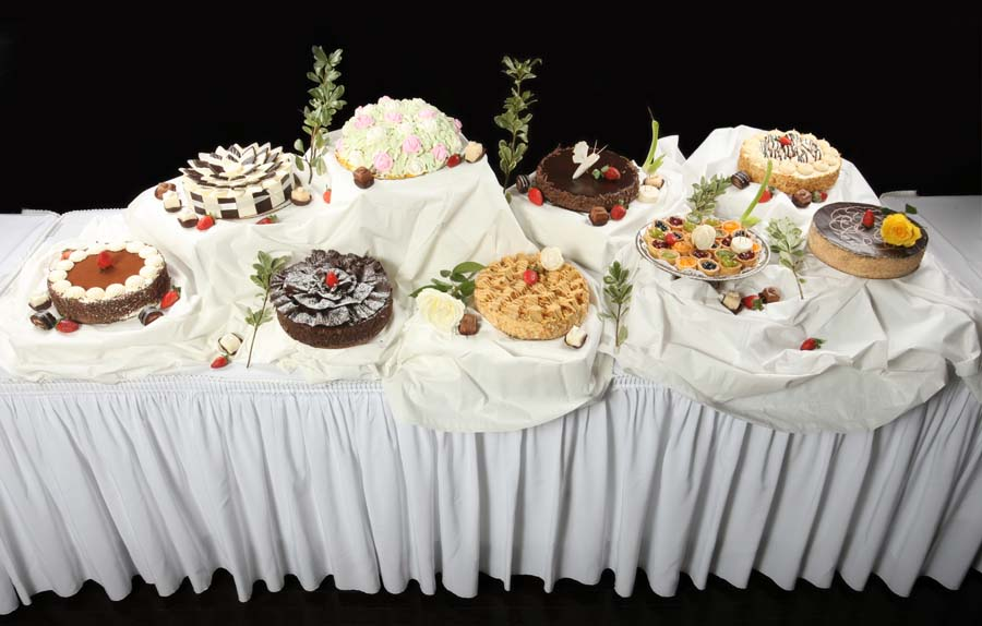 Catered Viennese Table